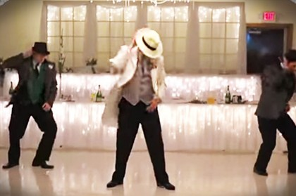 Fun Surprise Dance At A Wedding